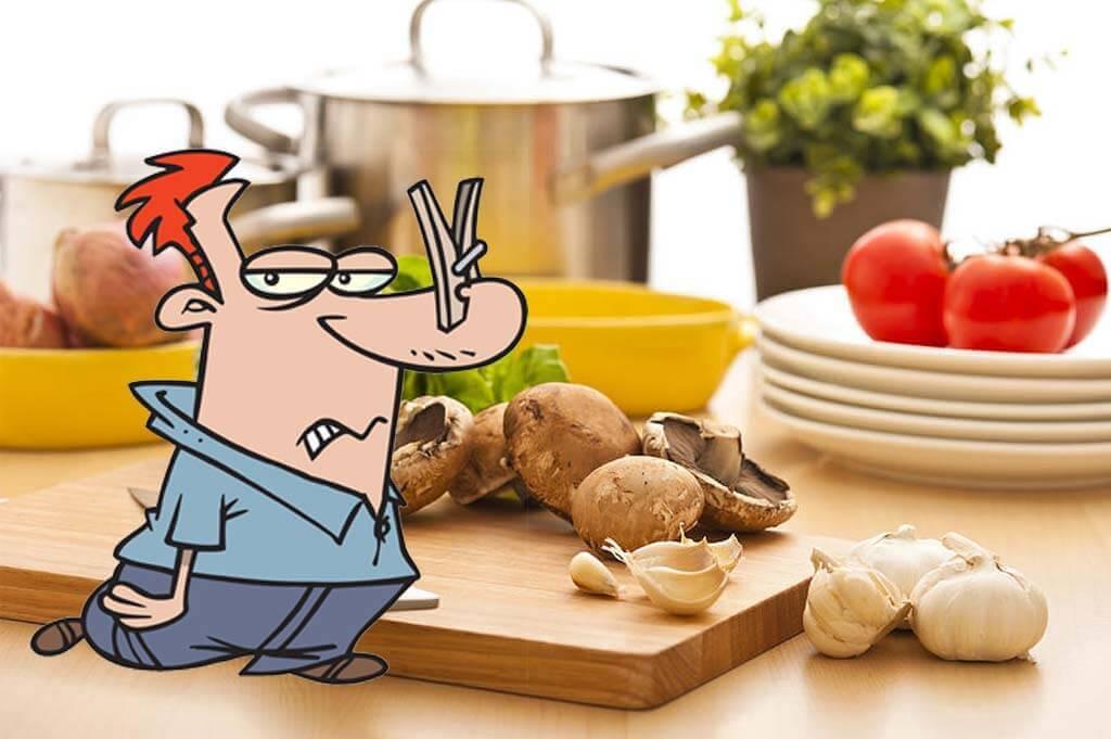 Mutfakta Yemek Pişirme Kötü Kokuları Önleme
