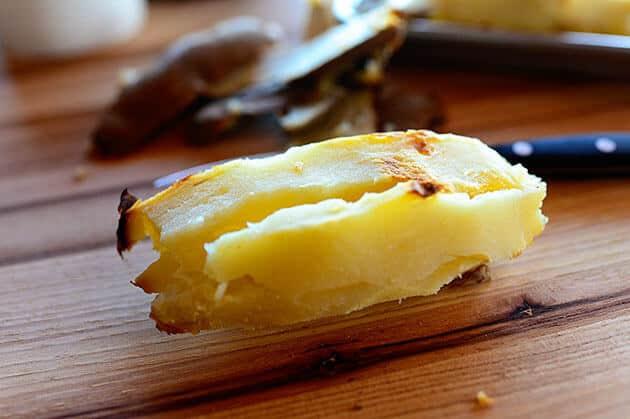 Fırında Yumurtalı Kahvaltılık Patates - Haşlanmış patates